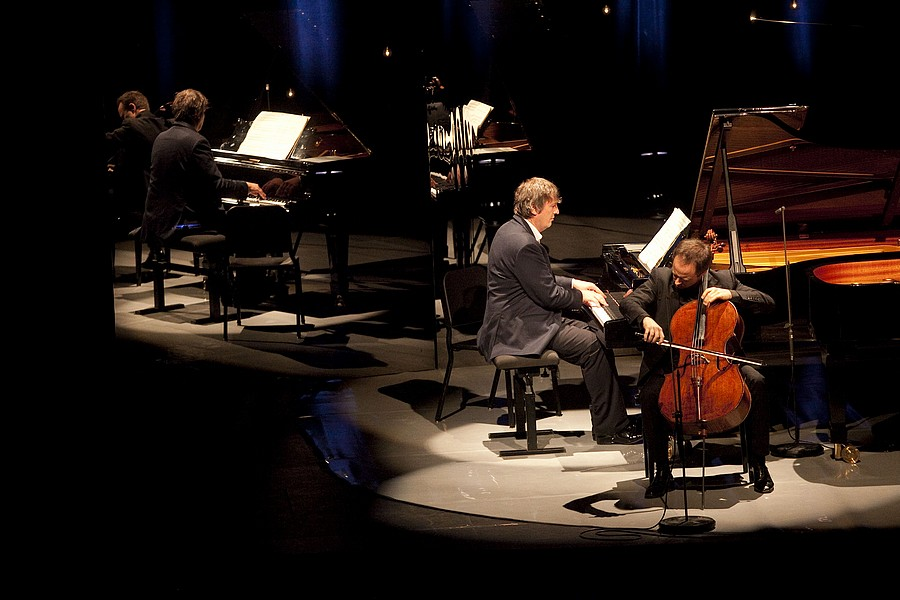 Boris Berezovsky et Henri Demarquette © DR.