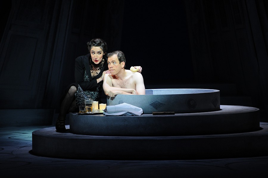 Julie Robard-Gendre et François Rougier © Alain Julien.