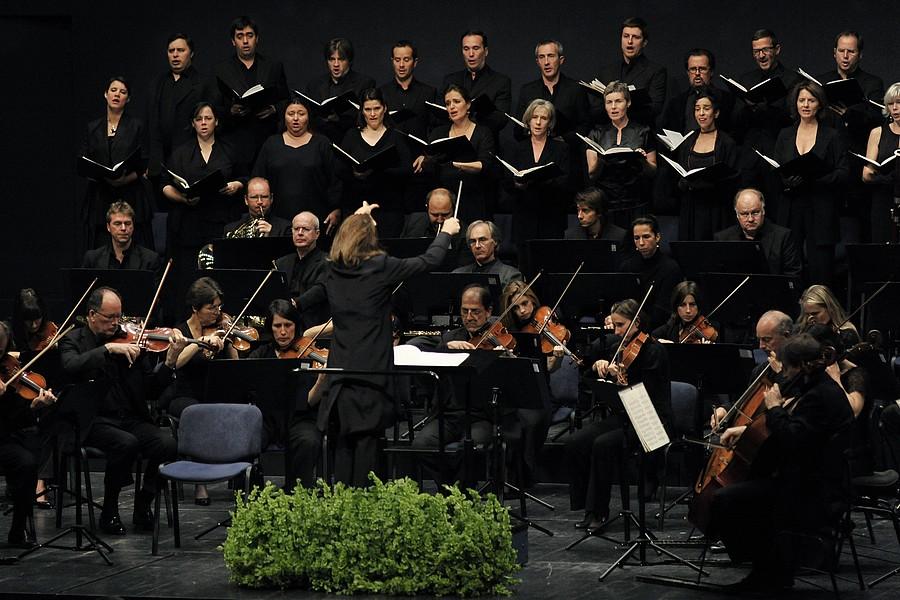 Accentus et l'Orchestre de chambre de Paris © Jana Jocif.