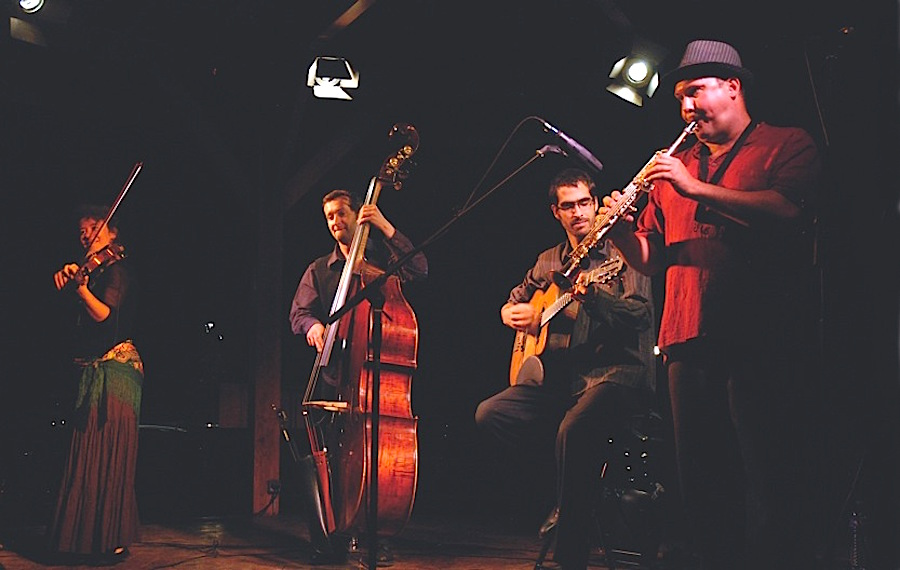 Le Quatuor BrinTzig © DR.