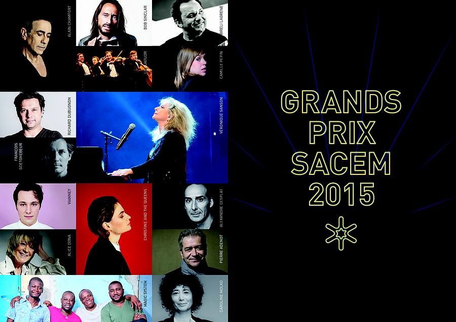 Grands Prix Sacem 2015 : les lauréats sont…
