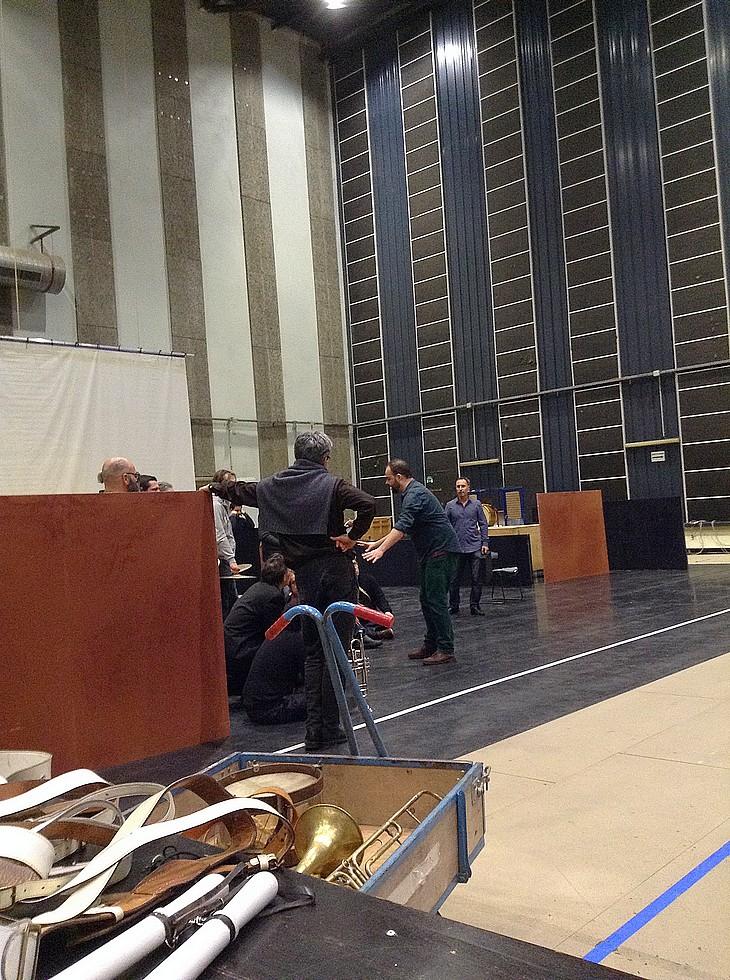 Répétition à l'Opéra de Nice © Christine Ducq.