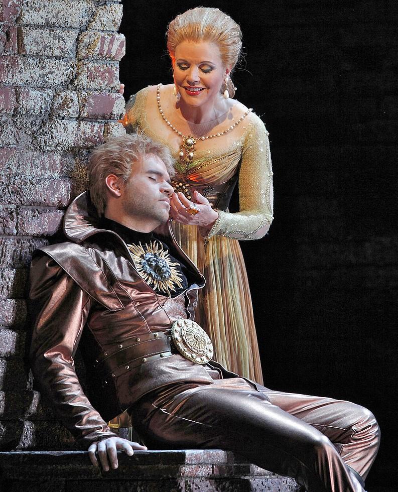 "Michael Fabiano dans ""Lucrezia Borgia"", San Francisco Opera © Cory Weaver."