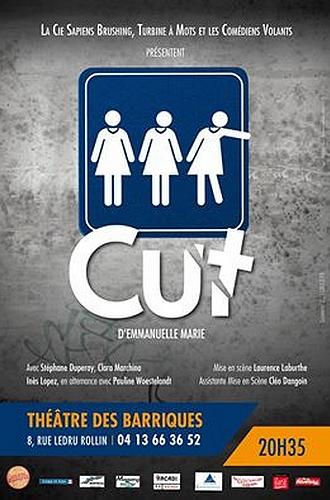 "● Avignon Off 2016 ● ""Cut"""