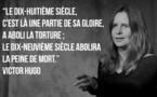 """Interprétation passionnée de Betty Pelissou qui reprend """"Le dernier jour d'un condamné"""""""