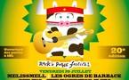 29 et 30/07/2011, Festival Rock'n Poche, Habère-Poche, Alpes du Léman