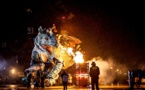 """""""Le Dragon de Calais"""" Le Spectacle : Naissance du Dragon de La Machine sur la plage de Calais"""