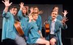"""""""Carnet de notes"""", théâtre en chansons, dès 6 ans, par la Cie du Sans Souci"""