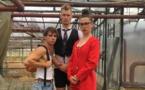 """""""Projet Faille"""" Spectacle de jeunes circassiens accueilli par la Cie Jérôme Thomas dans les jardins d'un hôpital psychiatrique"""