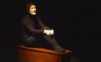 Marc-Henri Lamande dans la lumière... de Novarina