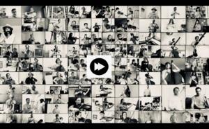 100 musiciens de l'Orchestre Philharmonique de Radio France jouent Charlie Chaplin pour l'UNICEF