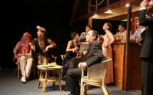 """""""Mort sur le Nil"""" d'après """"Meurtre sur le Nil"""" d'Agatha Christie, spectacle créé en avril 2018 par l'ATPCSM, Bruxelles © ATPCSM."""